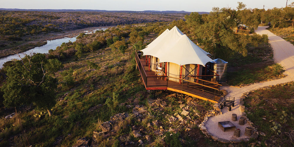 Texas Glamping Tents
