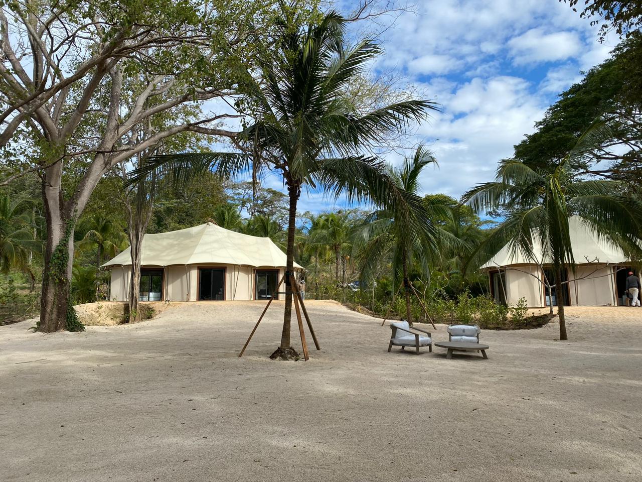 Luxurious African Safari Tent