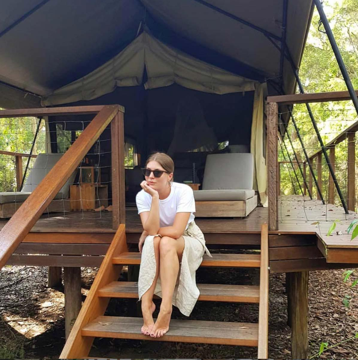 Vacation Glamping Tent