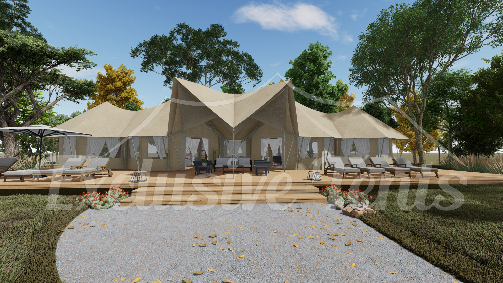Unique Glamping Tent