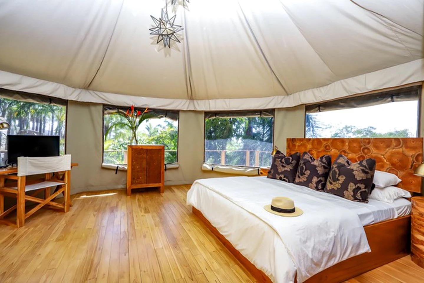 Luxury Tent Interiors