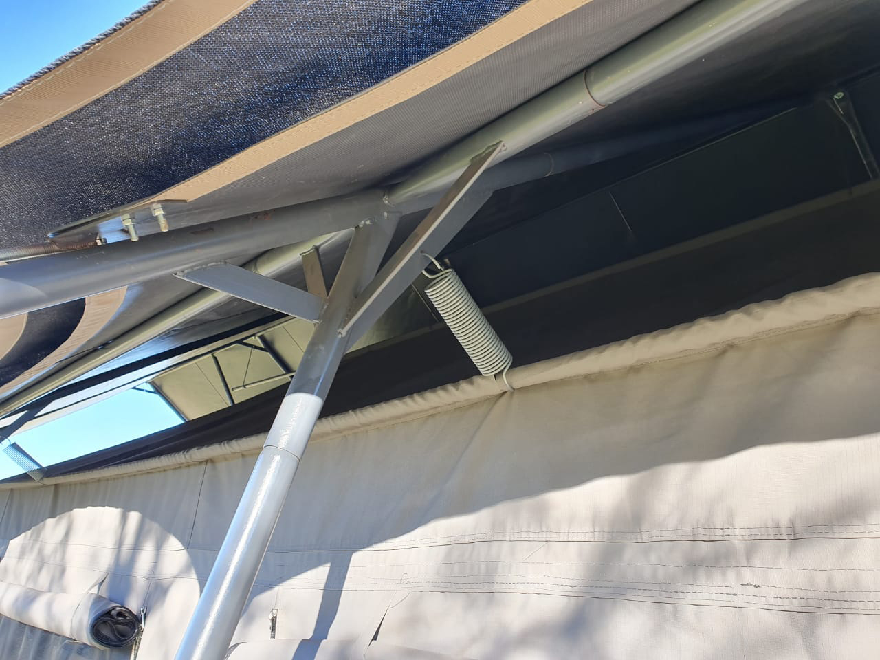Tent Tensioning System